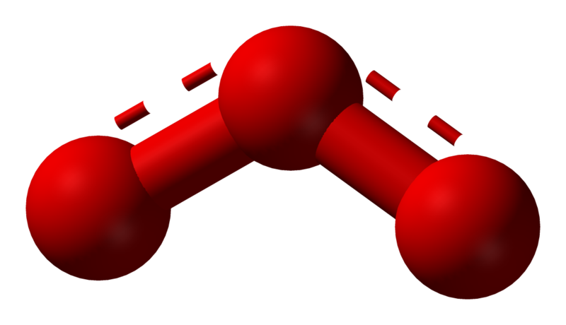 La molecola di ozono