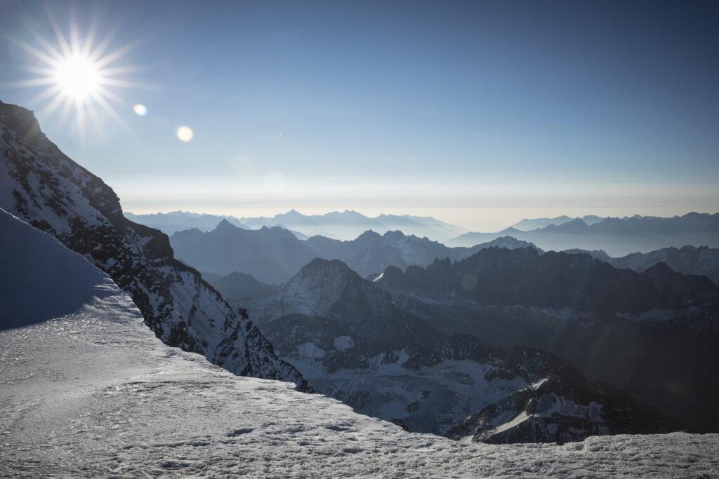 ghiacciai clima Grand Combin