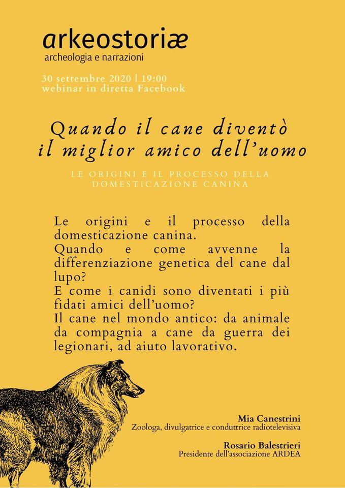 cane domesticazione