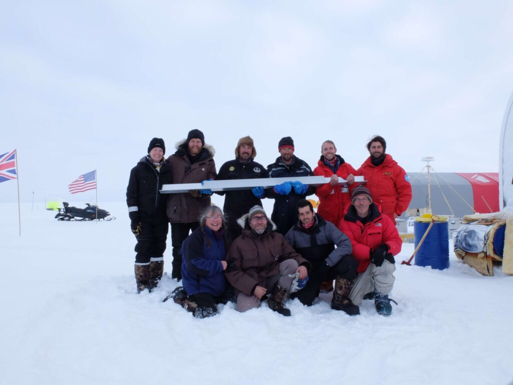 ghiaccio Nord Atlantico