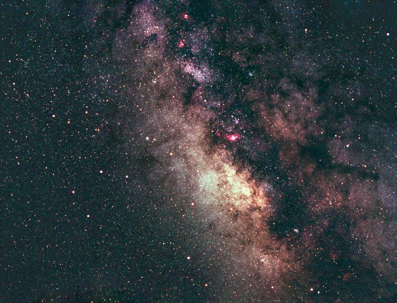 centro della Galassia buco nero supermassiccio Via Lattea costellazione del Sagittario