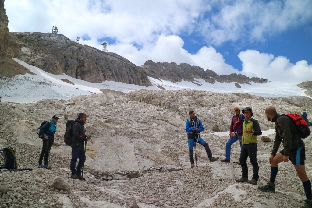 ritirata ghiacciaio Marmolada