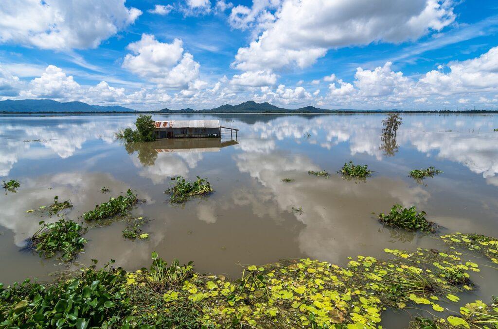 delta del Mekong sprofonda livello del mare