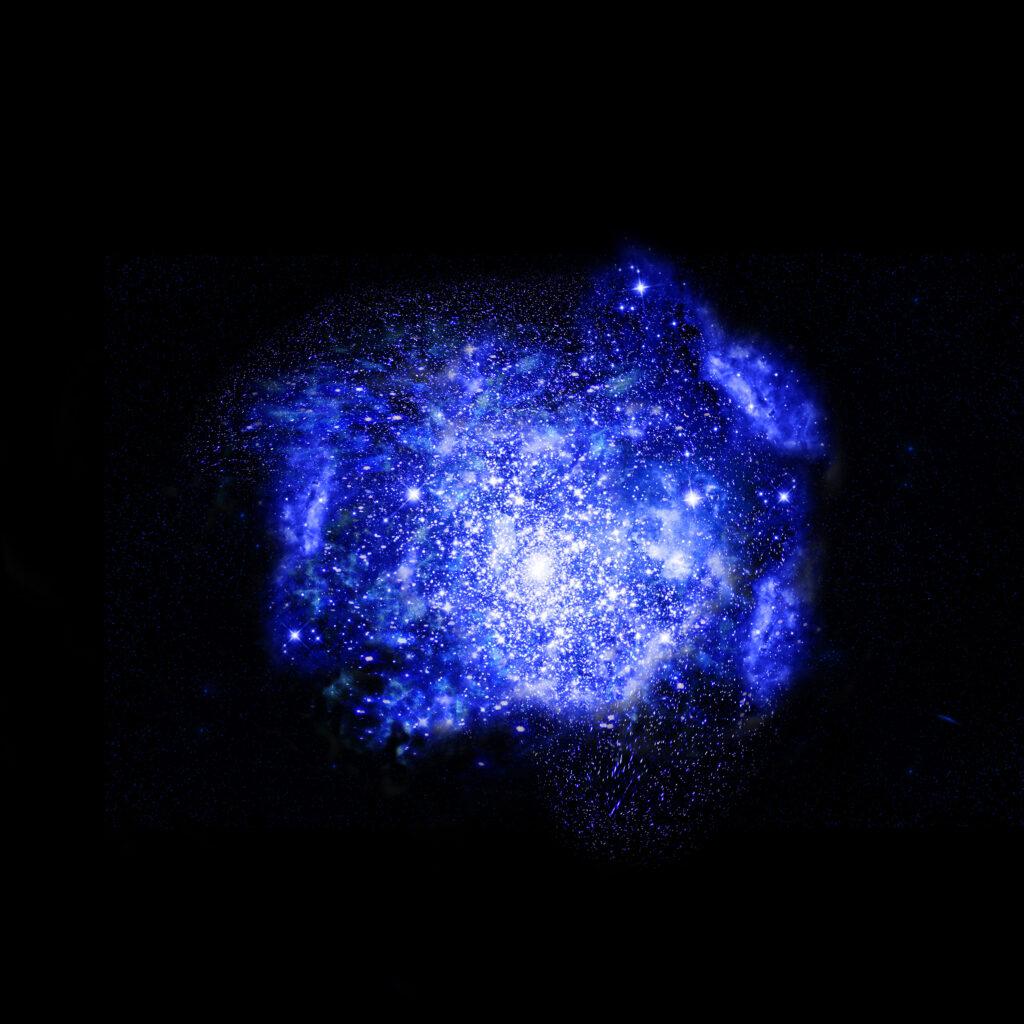 due nuove galassie polvere interstellare REBELS