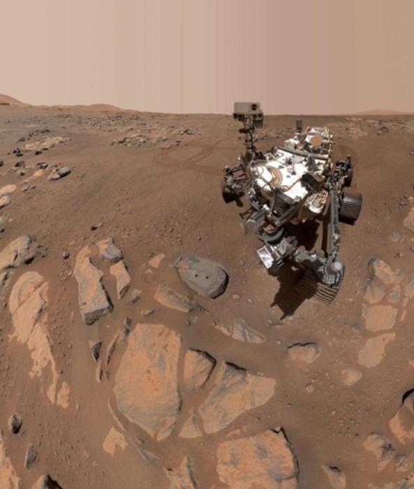 Jezero Crater water Mars, Perseverance rover