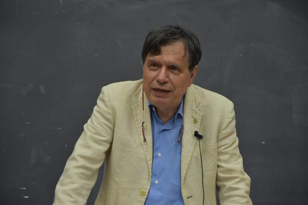 Giorgio Parisi Nobel per la Fisica 2021